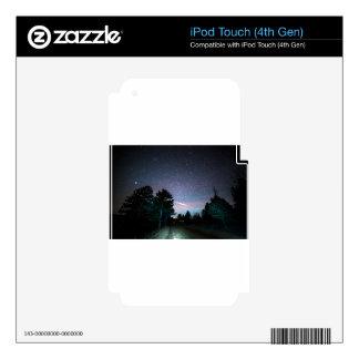 Jinete de noche calcomanías para iPod touch 4G