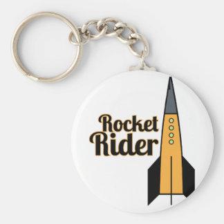 Jinete de Rocket Llavero Personalizado
