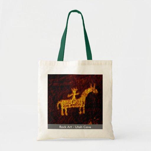 Jinete del caballo bolsas