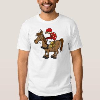 Jinete del caballo de Brown Camisas