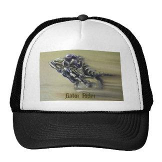 Jinete del cocodrilo gorras de camionero