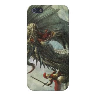 Jinete del dragón, caso del iPhone 4 iPhone 5 Cárcasa
