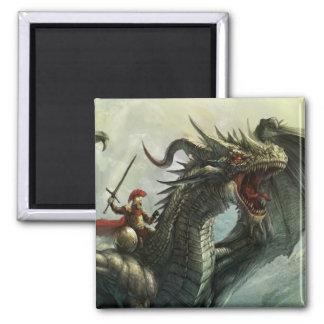 Jinete del dragón, imán
