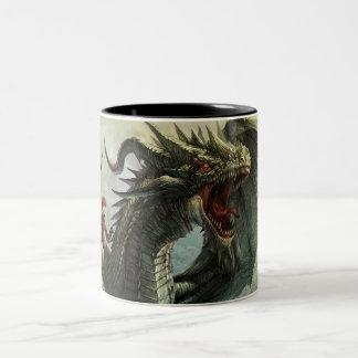 Jinete del dragón taza