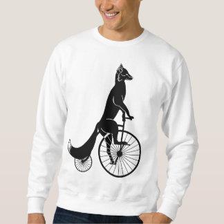 Jinete del Fox en la bici del comino del penique Sudadera