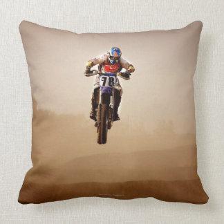 Jinete del motocrós almohada