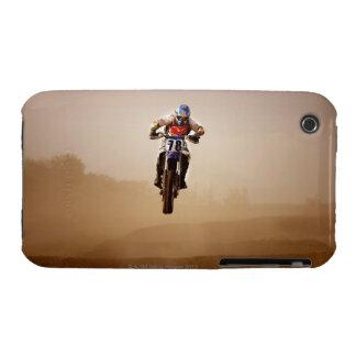 Jinete del motocrós iPhone 3 carcasa
