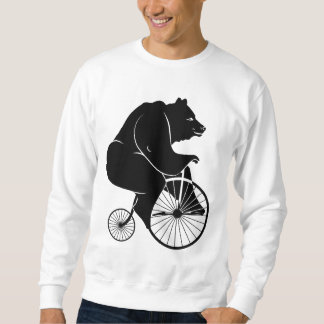 Jinete del oso en la bici del comino del penique jersey