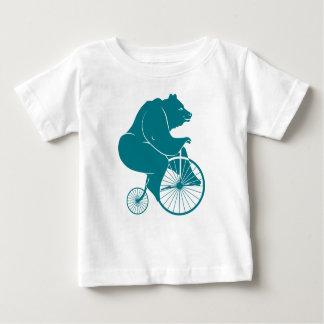 Jinete del oso en la bici del comino del penique poleras