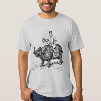 Jinete del rinoceronte poleras