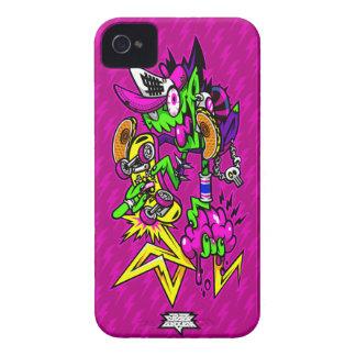 Jinete del zombi Case-Mate iPhone 4 protectores