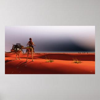 Jinete en las arenas del tiempo, José Mosa del Póster