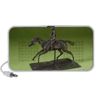 Jinete en un caballo (bronce) altavoz