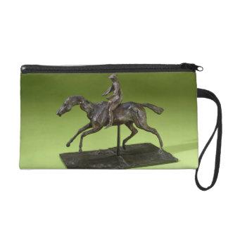 Jinete en un caballo (bronce)