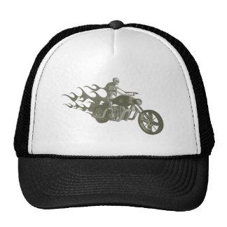 Jinete esquelético del motorista/de la bici: gorro