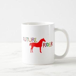 Jinete futuro taza de café