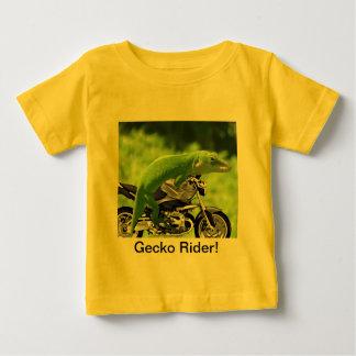 Jinete hawaiano verde del Gecko Playeras