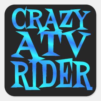 Jinete loco de ATV