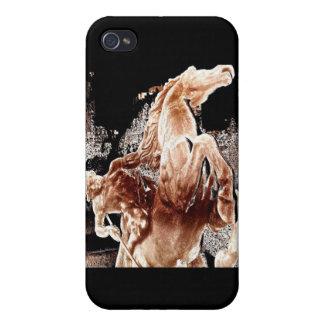 Jinete mítico del caballo iPhone 4 protectores