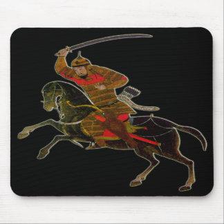 Jinete mongol en batalla tapete de raton