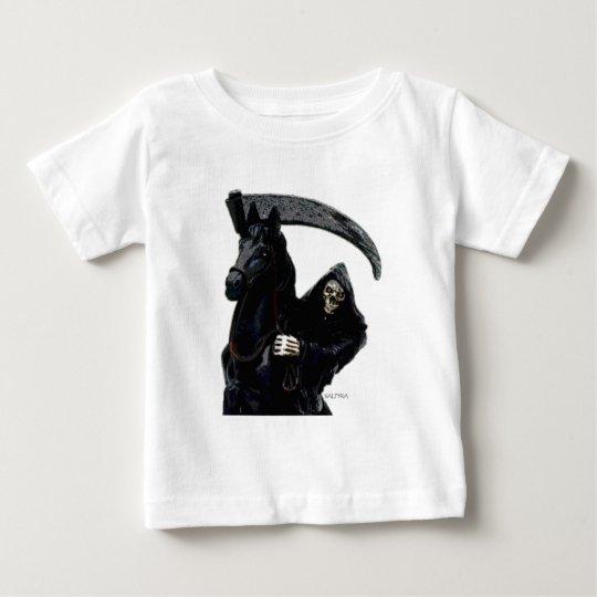 Jinete negro del parca por Valpyra Playera De Bebé