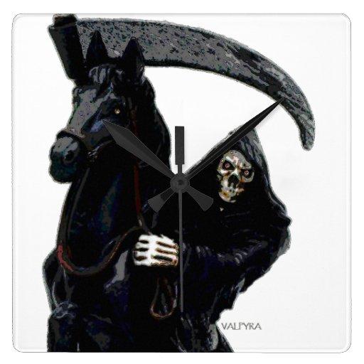 Jinete negro del parca por Valpyra Relojes