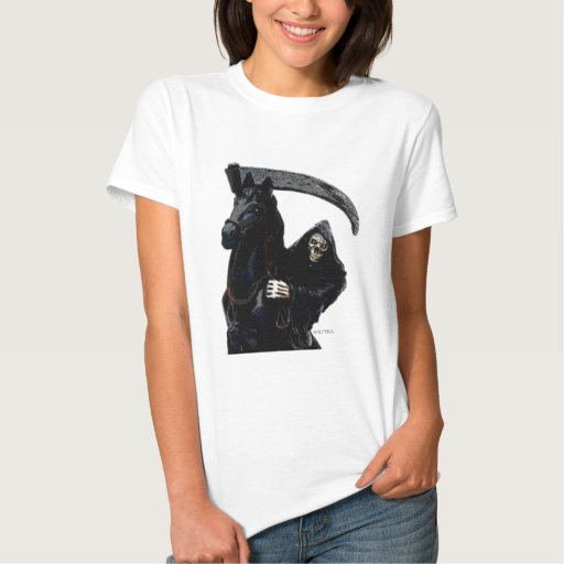Jinete negro del parca por Valpyra T Shirt