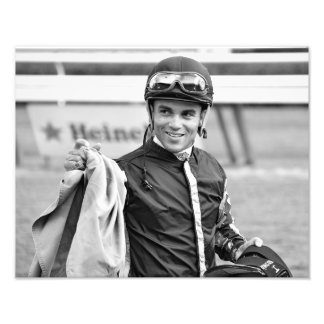 Jinete que gana Joel Rosario de Dubai Derby Foto