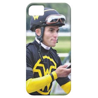 Jinete que gana Joel Rosario del mundial de Dubai iPhone 5 Protectores