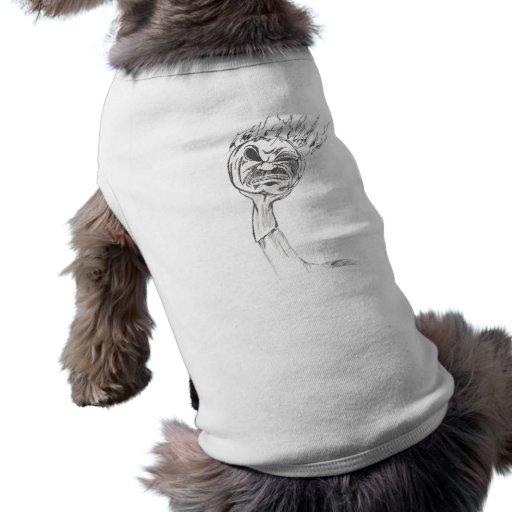 Jinete sin cabeza camisetas de perro
