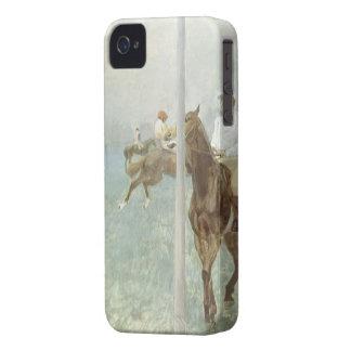 Jinetes ante la raza de Edgar Degas Case-Mate iPhone 4 Funda