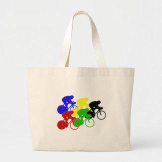 Jinetes de ciclo de la bici de la raza de biciclet bolsa