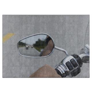 Jinetes de la vista posterior tabla de cortar