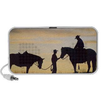 Jinetes de lomo de caballo 11 iPod altavoz