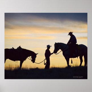 Jinetes de lomo de caballo 11 póster