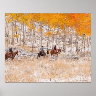 Jinetes de lomo de caballo 2 poster