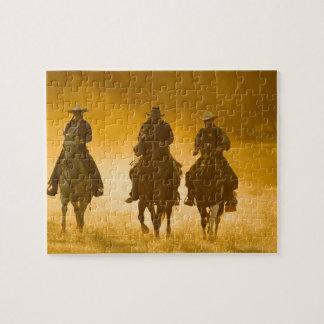 Jinetes de lomo de caballo 4 rompecabeza
