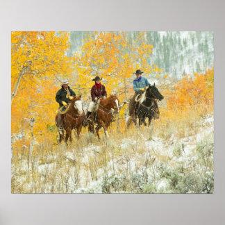 Jinetes de lomo de caballo 7 póster