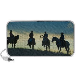 Jinetes de lomo de caballo 8 iPhone altavoz