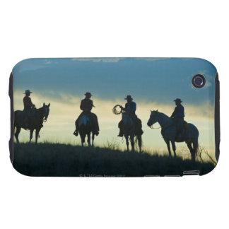 Jinetes de lomo de caballo 8 iPhone 3 tough protector
