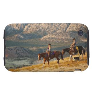 Jinetes de lomo de caballo 9 tough iPhone 3 fundas