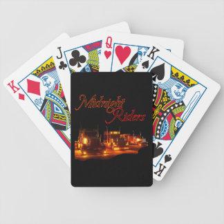 Jinetes de medianoche baraja cartas de poker