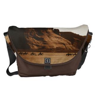 Jinetes de Navajo - Canyon de Chelly, la bolsa de  Bolsa De Mensajería