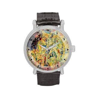 Jinetes de Pavel Filonov- Relojes