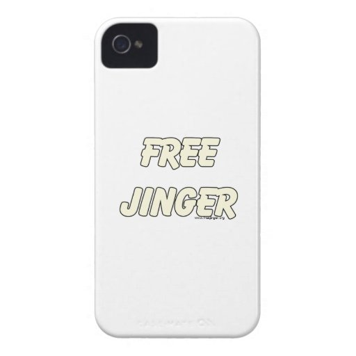 Jinger libre (2) iPhone 4 Case-Mate protectores