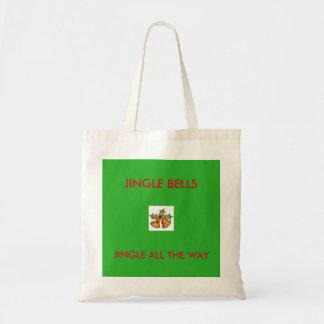 JINGLE ALL THE CHRISTMAS TOTE BAG