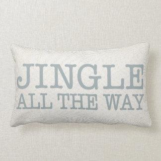 Jingle All the Way Christmas Decor Throw Pillow