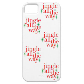 Jingle All the Way Christmas Iphone Case iPhone 5 Case