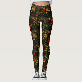 Jingle All The Way Christmas Ornament Leggings