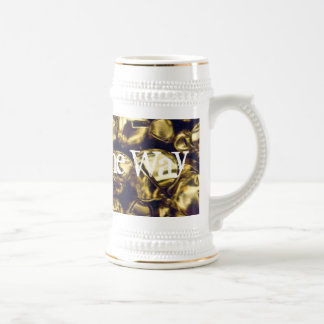 Jingle All the Way Gold Bells Stein Coffee Mugs